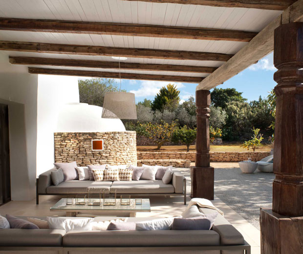 ESTILO RUSTICO Casa Rustica y Moderna en Ibiza