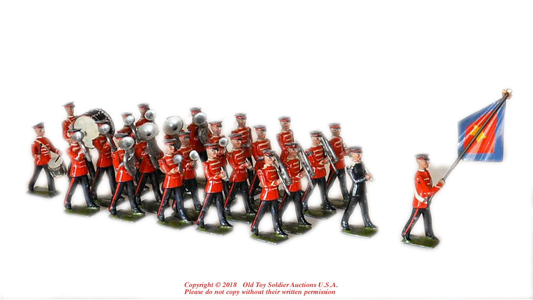 Old Antique Toys Britains Toy Soldiers
