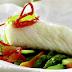 Bacalao en Papillote con Verduras