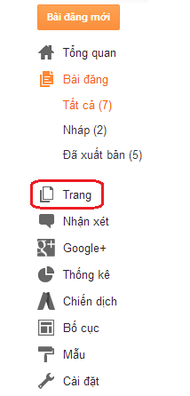 Tạo Sitemap cho Blogger
