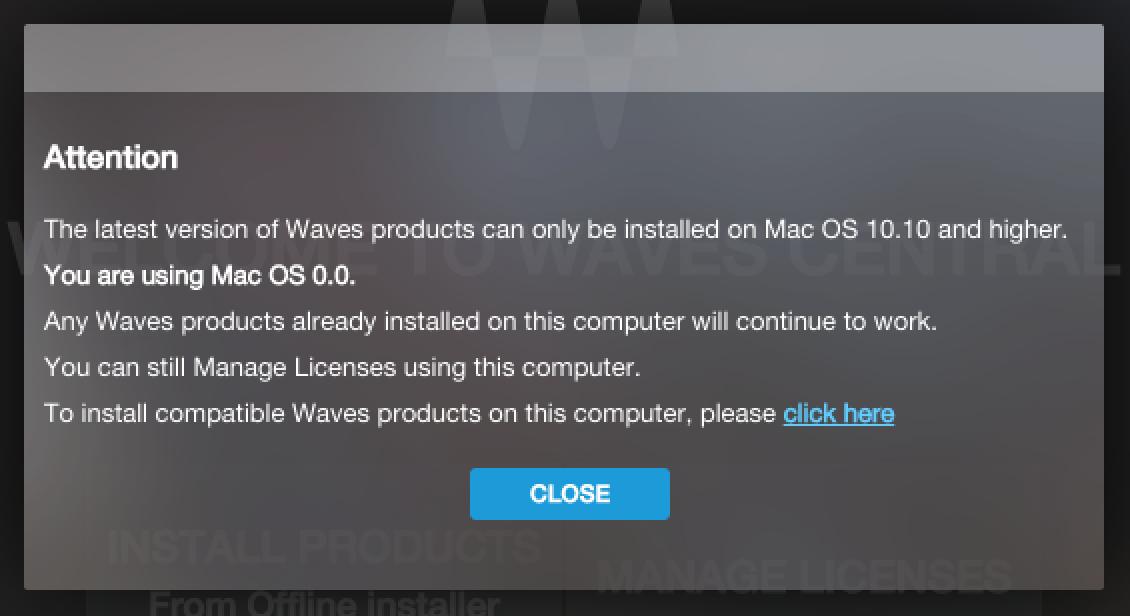 Waves Bundle Mac