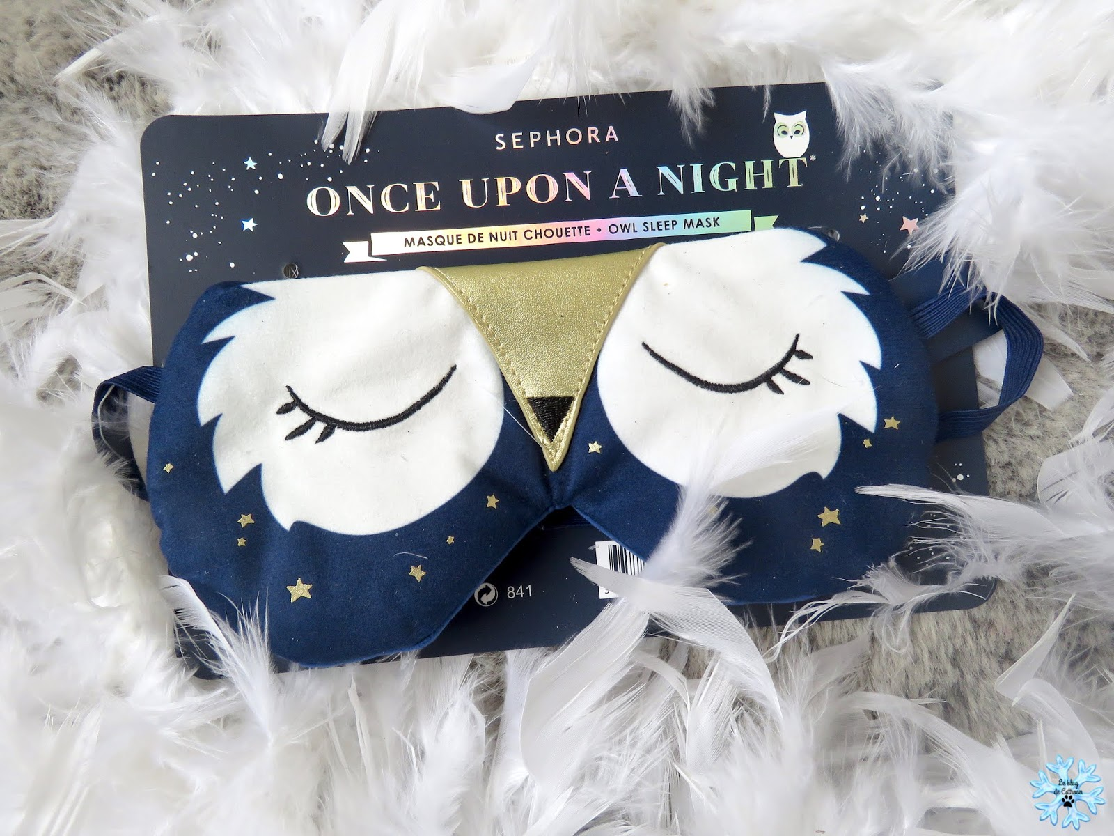 Masque de nuit chouette - collection noel 2018 Sephora