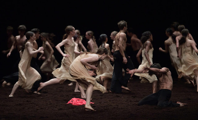 English National Ballet in Pina Bauch's Le Sacre du printemps (The Rite of Spring) © Laurent Liotardo