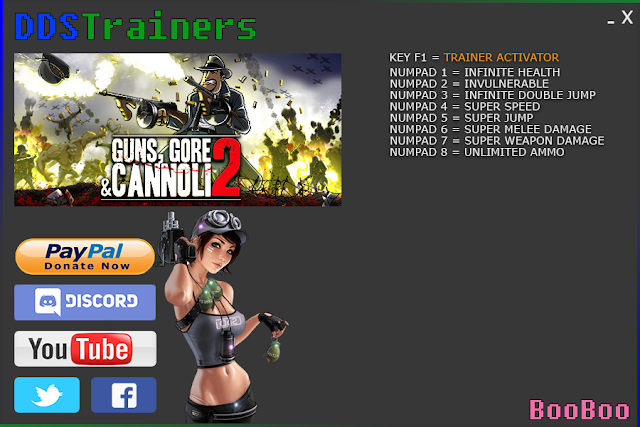 Guns Gore and Cannoli 2 Trainers and Cheats for PC
