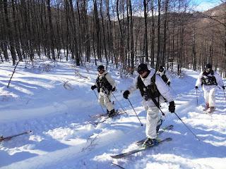 Επιχειρησιακή Εκπαίδευση B΄ Μοίρας Καταδρομών σε Χιονοσκεπείς Περιοχές