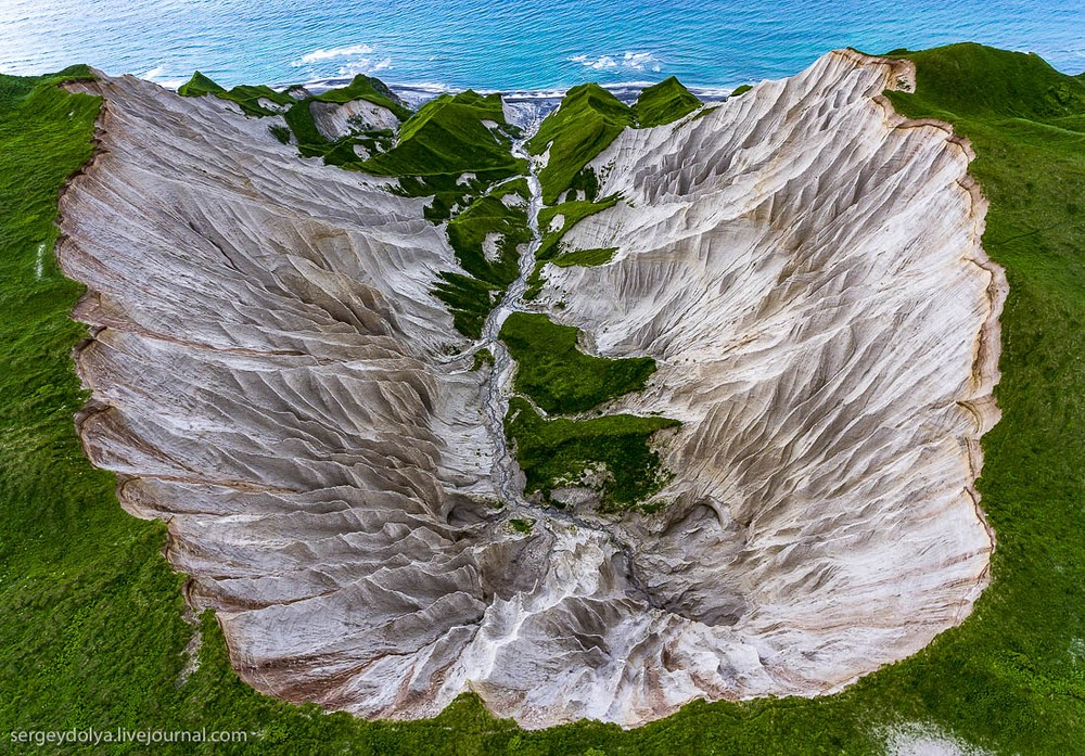 White Cliffs of Iturup Island