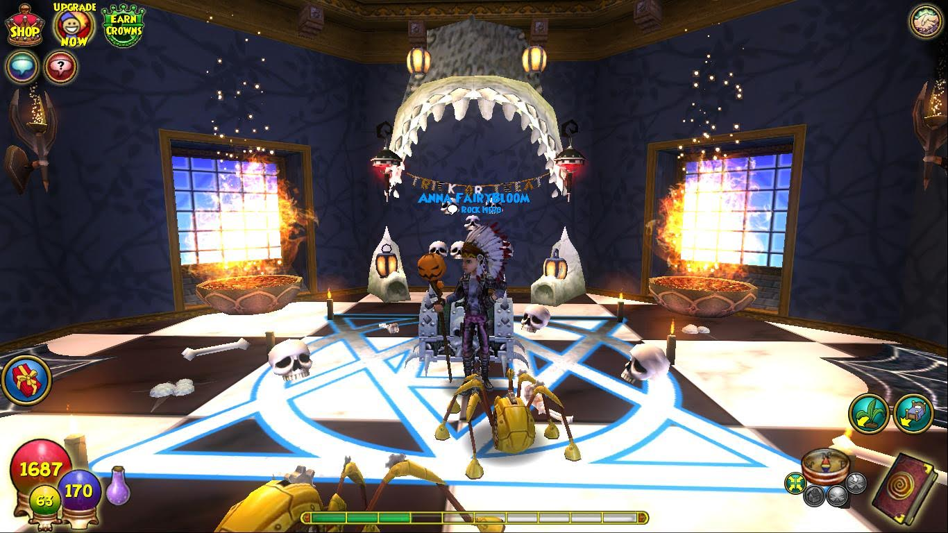 Paige's Page: Haunted Dorm Room  50 Items Contest -Wizard101