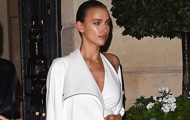 Irina Shayk: Η σέξι βραδινή εμφάνιση στο Παρίσι!