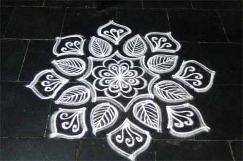 Reason for Drawing Kolam in Hindu Religion