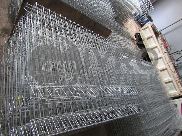 Pabrik Pagar BRC | Jual Pagar BRC Atau Pagar Wiremesh Lengkap Dengan Aksesoris