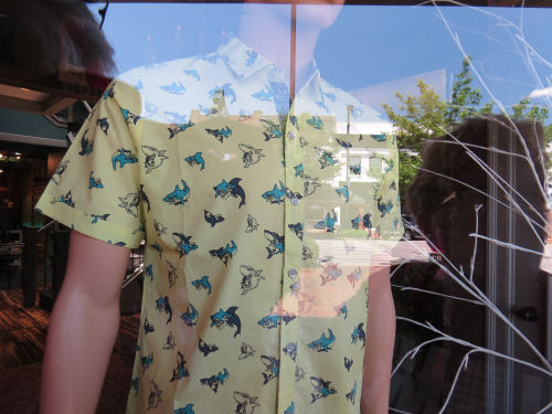 shirt with sharks
