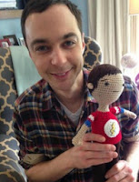 PATRON GRATIS SHELDON (THE BIG BANG THEORY) AMIGURUMI