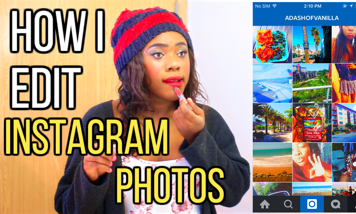 How I Edit My Instagram Photos: Feed Goals | Instagram Theme Ideas!