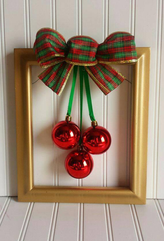8 adornos navide os con marcos para decorar en esta navidad mimundomanual - Marcos para decorar ...