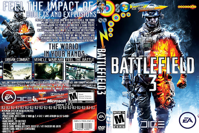 Capa Battlefield 3 PC