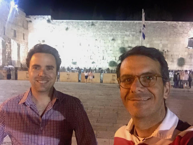Michel Abadi and Maverick's founder Yaron Carni