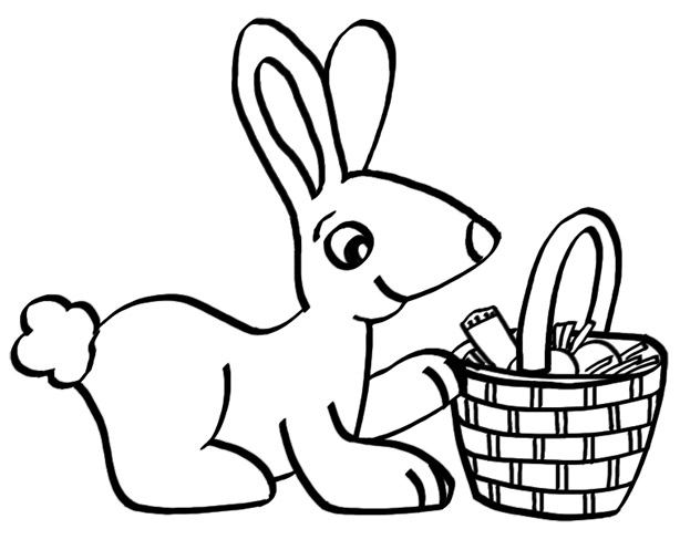 anti nephi lehi coloring page - ldsfiles clipart easter bunny