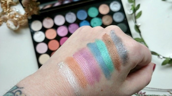 Makeup Revolution, Mermaids Forever Palette, The Style Guide Blog, beauty blog, UK, Ireland, Northern Ireland