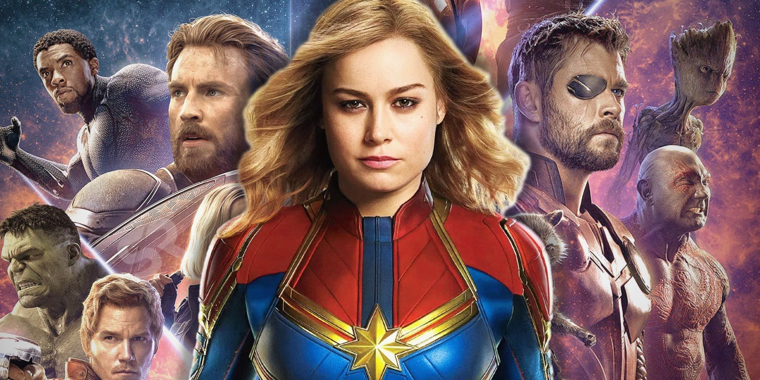 film maret 2019 captain marvel brie larson