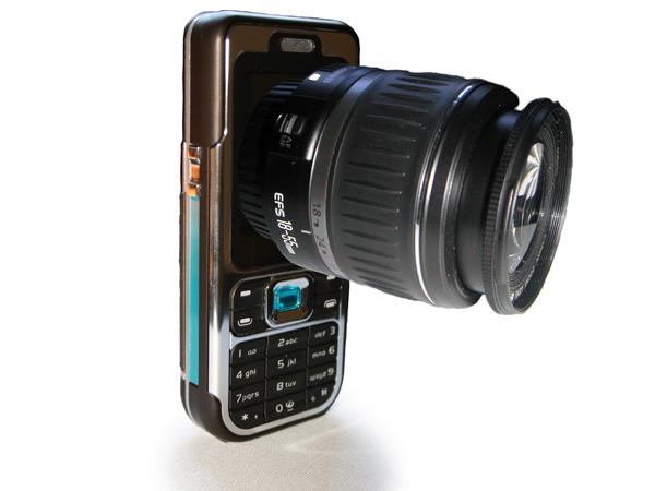 Cell Phone Camera History
