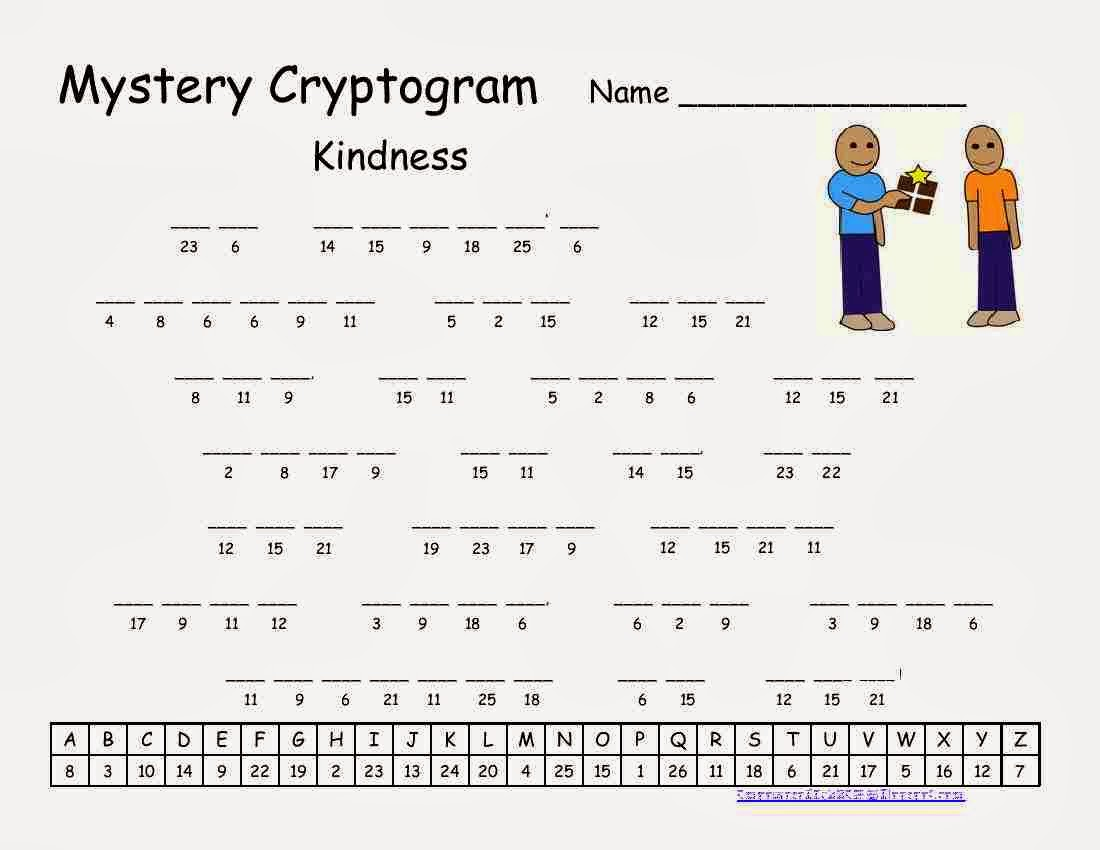 picture regarding Printable Cryptogram Puzzles identified as Cryptograms address a puzzle. - plasguiroca.gq
