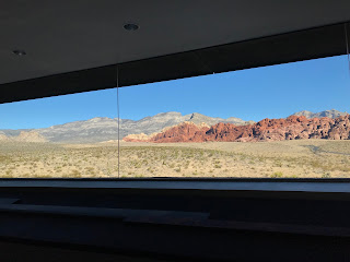 Panoramic view of the redrocks from the visitor's center