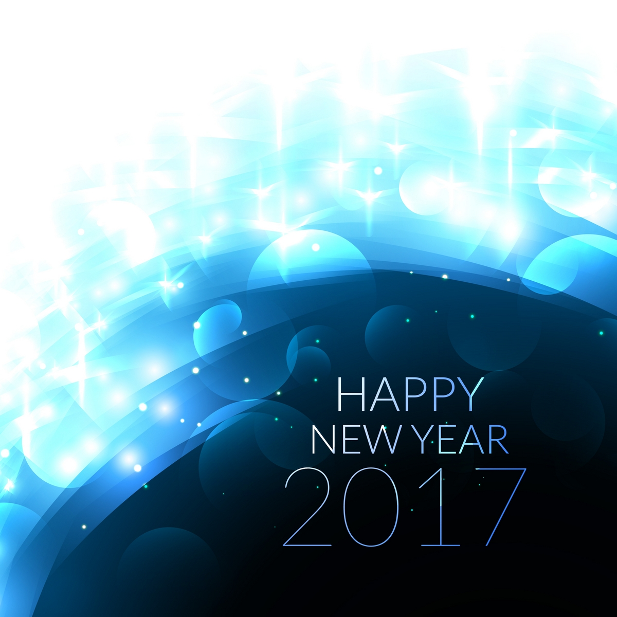 New Year 2017 eCards
