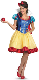 Women's Disney Princess Snow White Fab Deluxe Adult Costume Plus