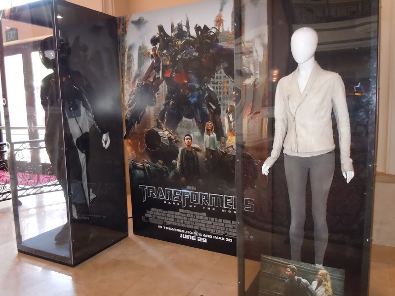 Transformers Dark of the Moon costume exhibit