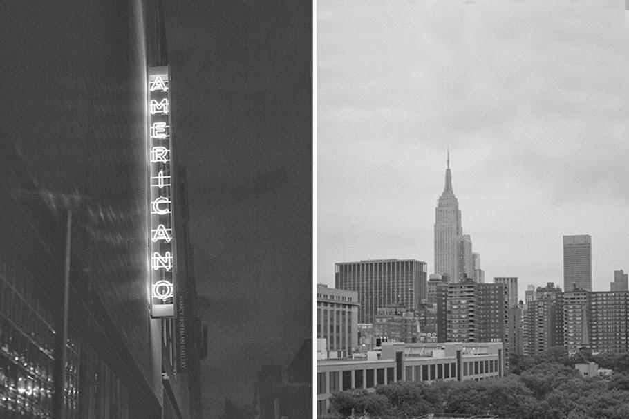 Behind the scenes: Glittering Nights New York City by Karissa Fanning