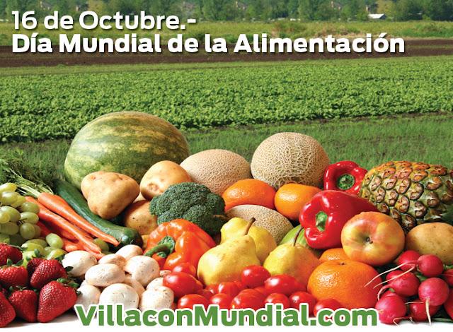 16 De Octubre Dia Mundial De La Alimentacion Villaconmundial Net
