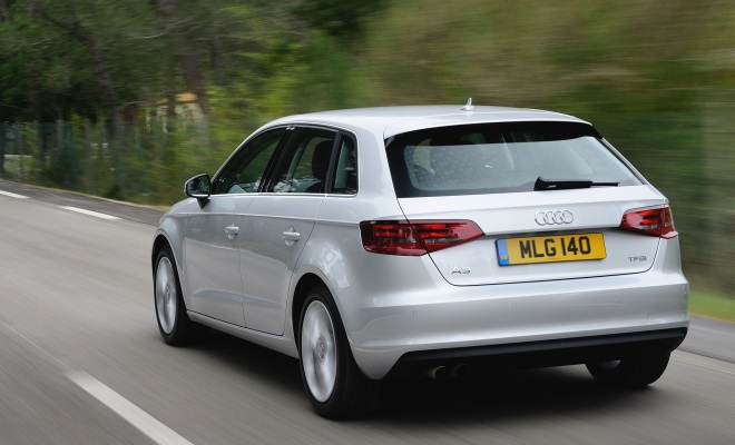 Audi A3 1.4 TFSI with Cylinder on Demand technology - rear view
