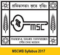 MSCWB Syllabus 2017