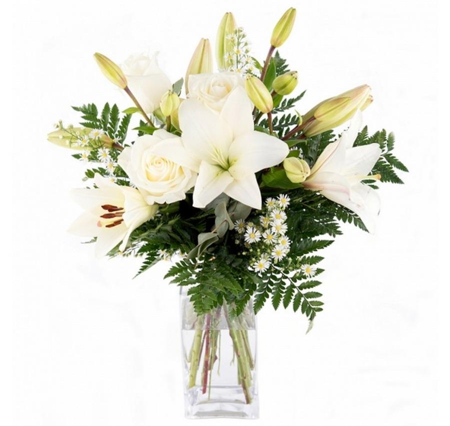 Im genes arte pinturas jarrones y floreros con dise os - Jarrones de cristal con flores ...