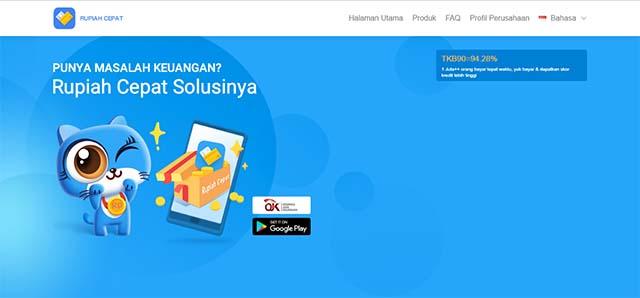 Rupiah Cepat - Aplikasi Pinjaman Online android terbaik
