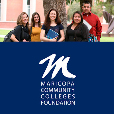 Image of MCCCDF Scholars and MCCDF logo