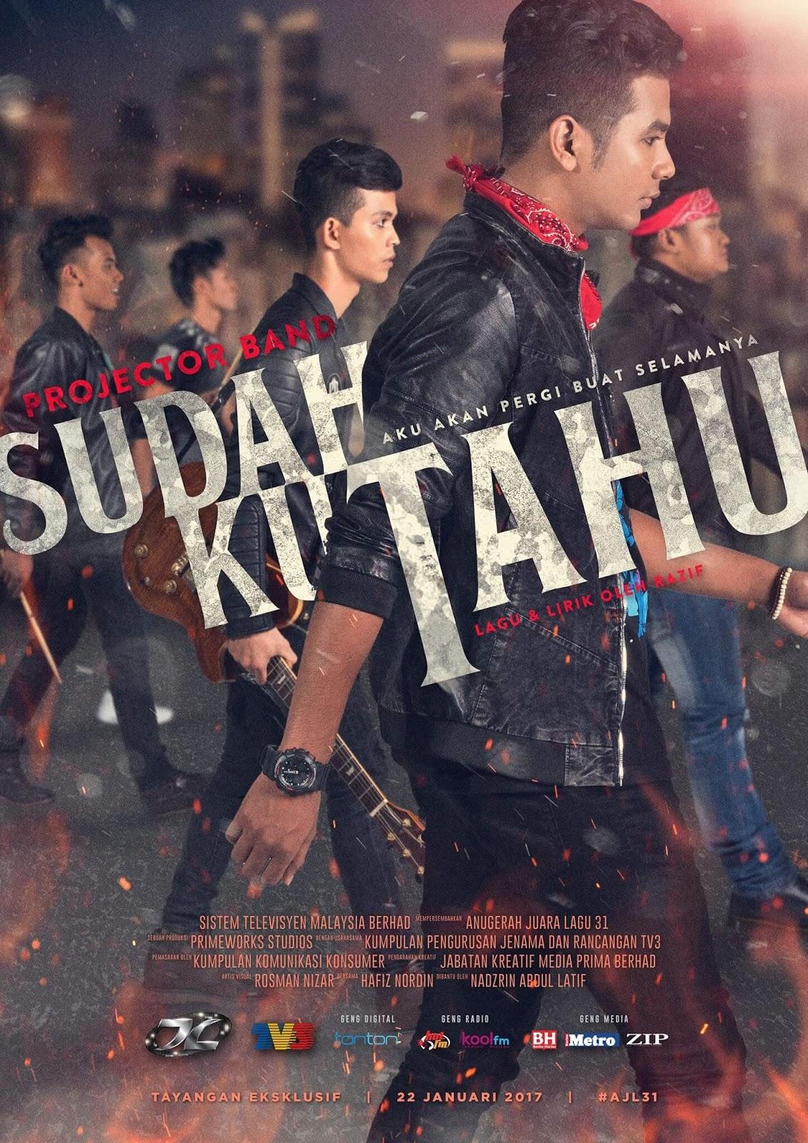 Projektor Band Sudahku Tahu