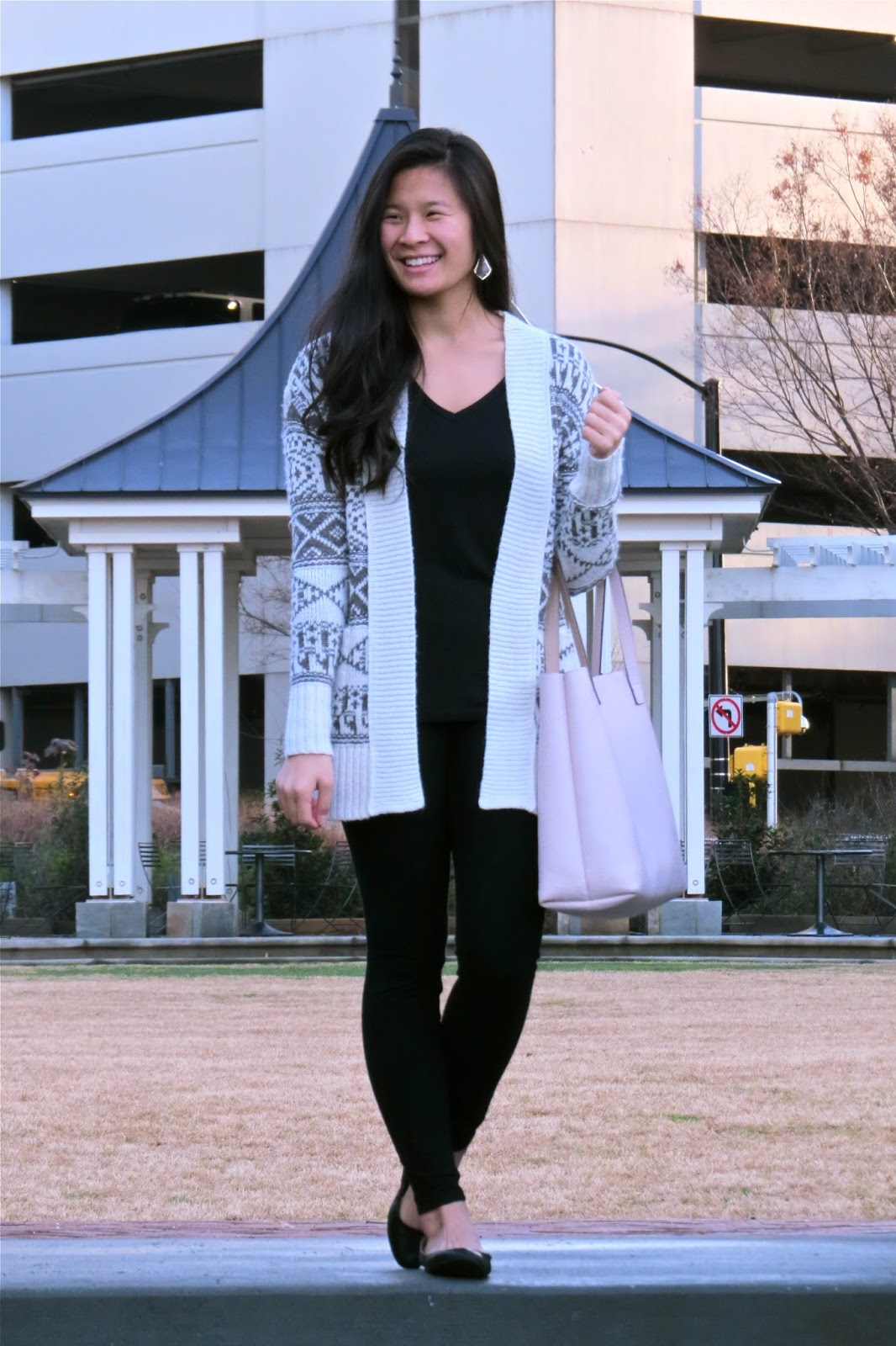 Styling_a_patterned_cardigan