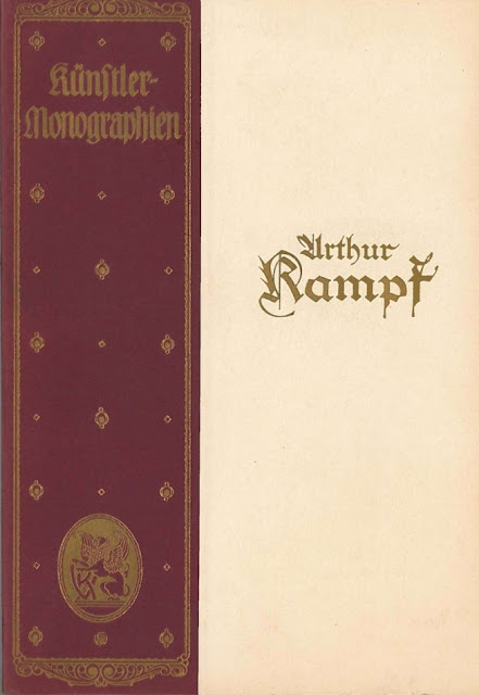 7) The cover page of the monograph by Hans Rosenhagen on Arthur Kampf 1922