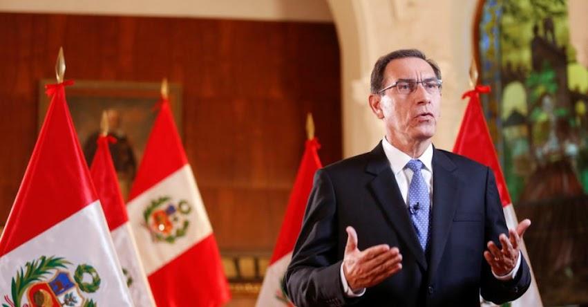 Perú exigirá visa a venezolanos a partir del 15 de junio, informó el Presidente Martín Vizcarra