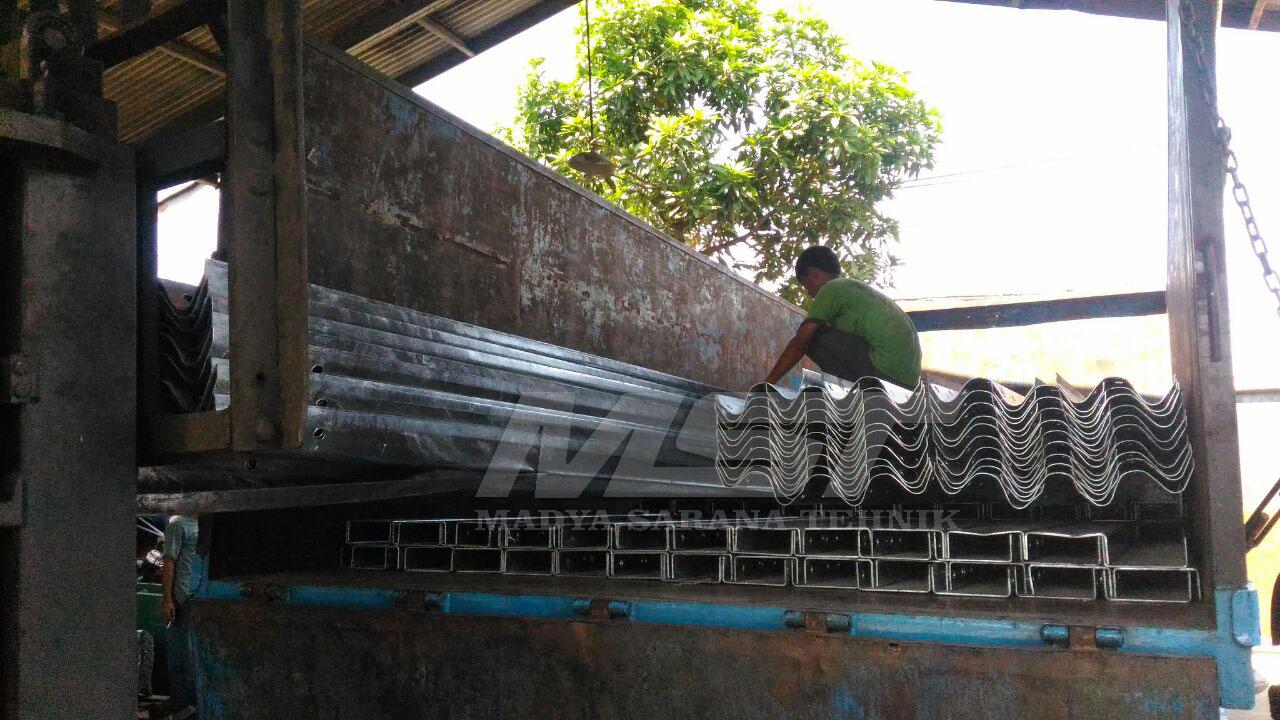 Pengiriman Produk Madya Sarana Tehnik Bor Biopori Spiral Guard Rail