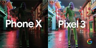 Pixel 3 vs iPhone XS, Google Bandingkan Kamera Mode Malam