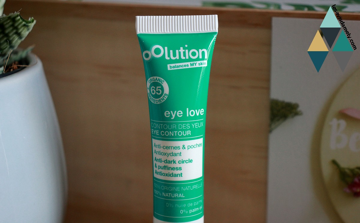 avis soin anti cernes anti poches naturel Oolution Eye Love