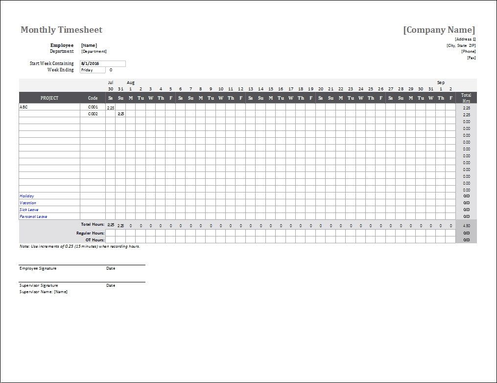 Material Order Form Template Printable