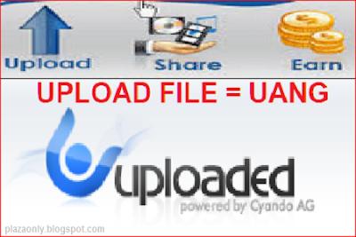 Cara Mendapatkan Uang Dengan Mengupload File