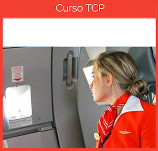Foto azafata de vuelo