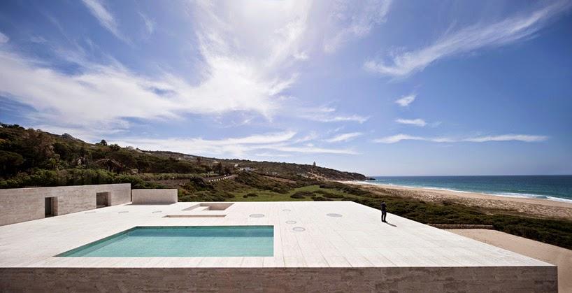 la playa con un diseño radical.