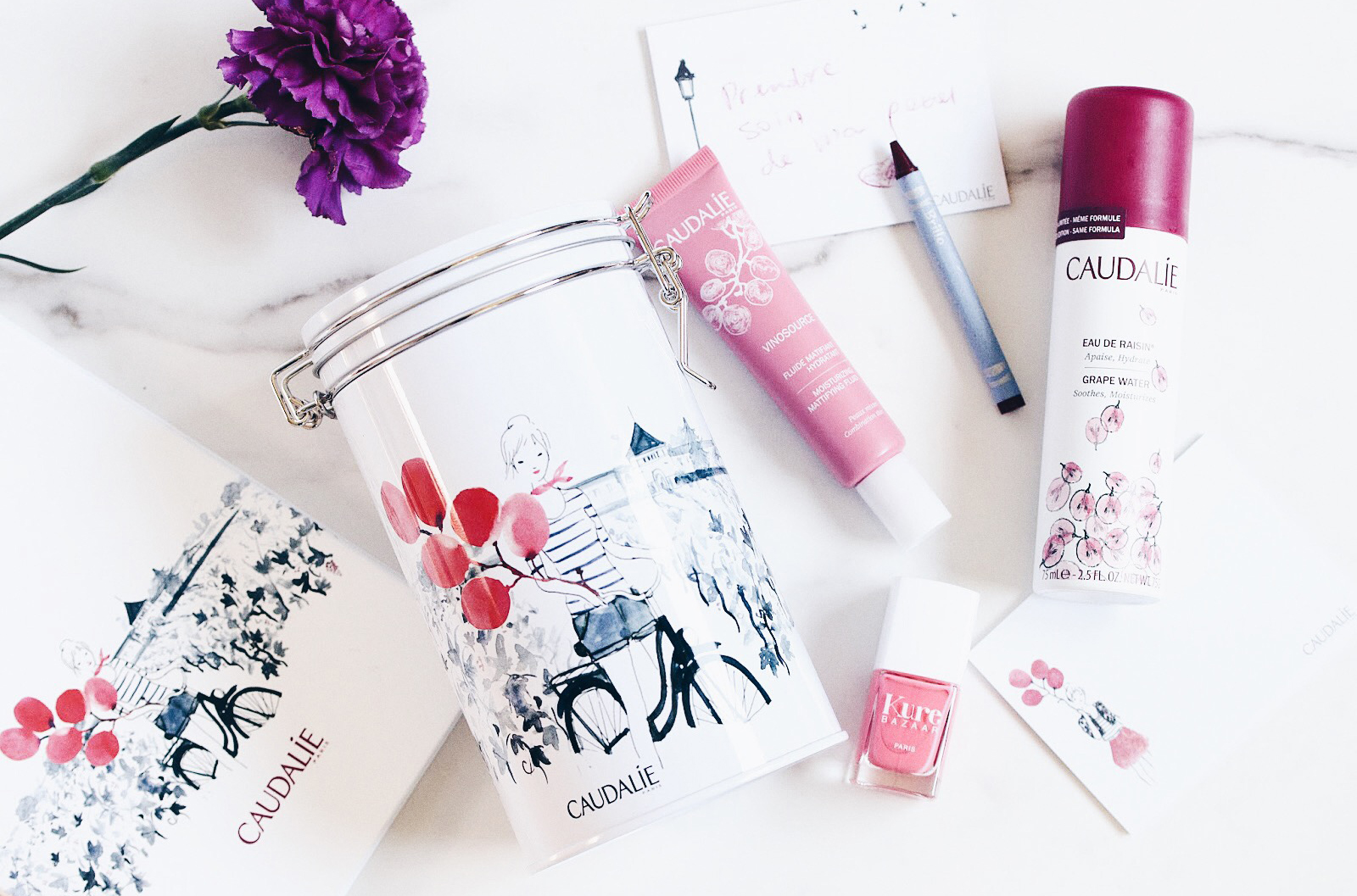 caudalie coffret vinosource avis test