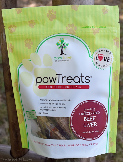 Freeze-dried beef liver pawtreats pawtree dog treats