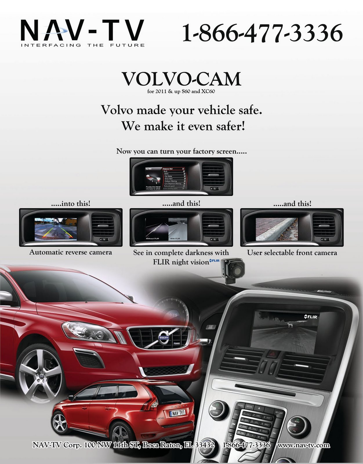 2011+2012 S60 Video Bypass + Backup Camera - Volvo Forums